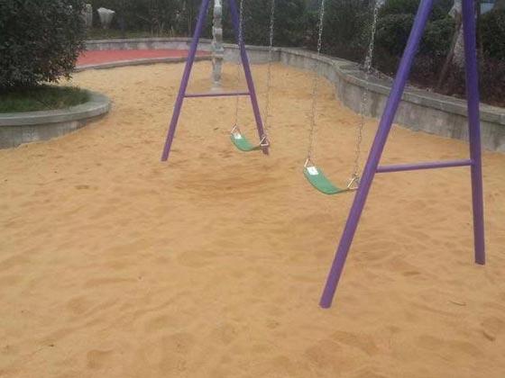 石英砂公园建设